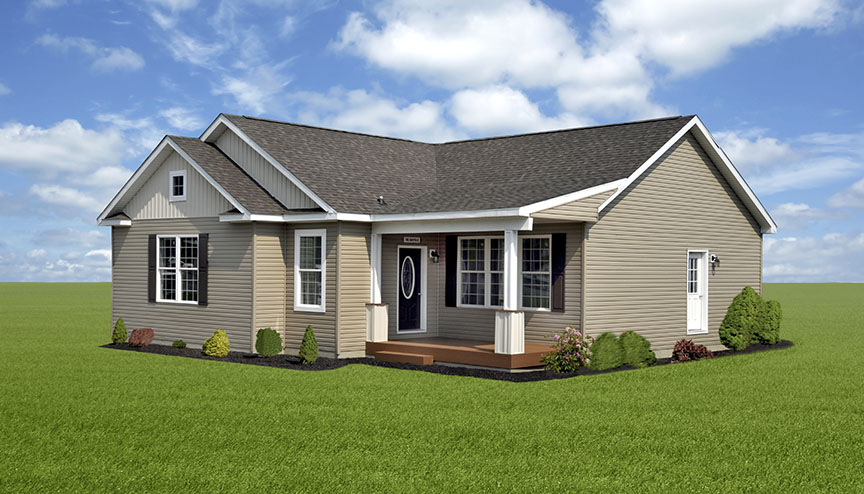 Featured model shorten homes for On site home builders